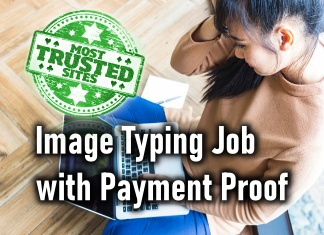 Photo of Image Typing Job with Instant Payment Proof